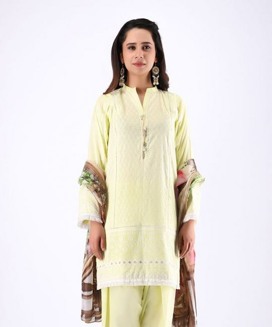 Zellbury Sandwisp Yellow Eid Collection