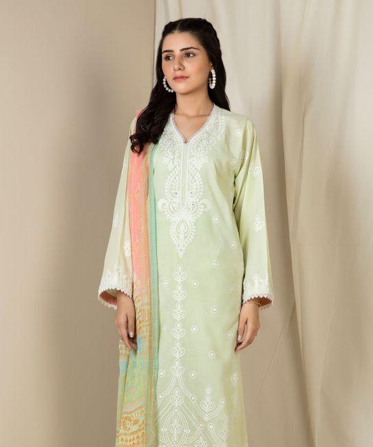 Zellbury Misty Green Eid Collection