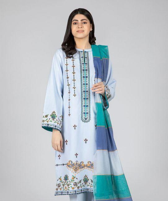 Zellbury Periwinkle Blue Eid Collection