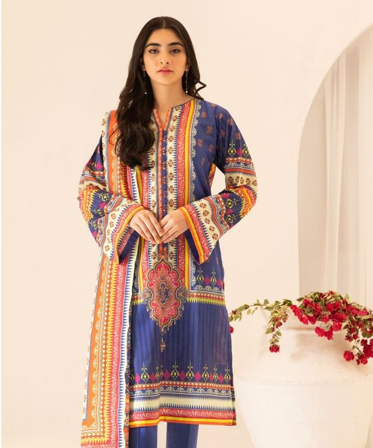 Zellbury Charade Blue Eid Collection
