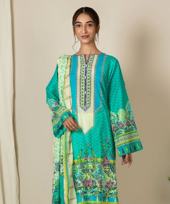 Zellbury Caribbean Green A Eid Collection