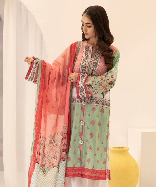 Zellbury Tonys Pink Eid Collection